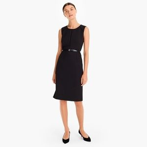 Size 6 J Crew Black Dress